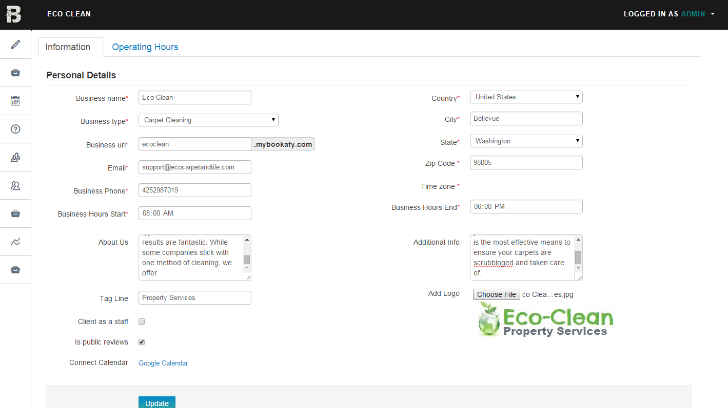 Eco-Clean-Update-Profile Eco Clean Update Profile
