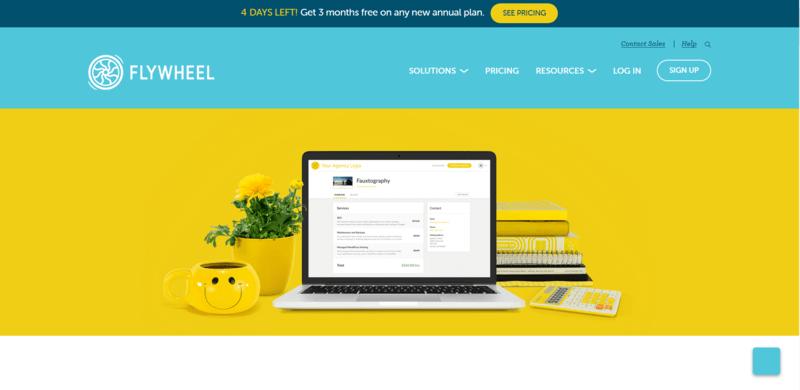 website hosting flywheel reseller